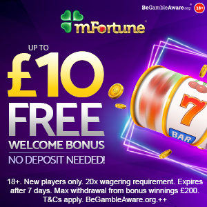 mfortune casino no deposit bonus